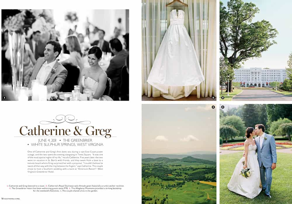 west virginia wedding in southern living magazine cooper carras