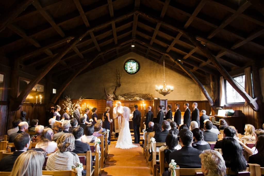 Swedenborgian Church wedding ceremony