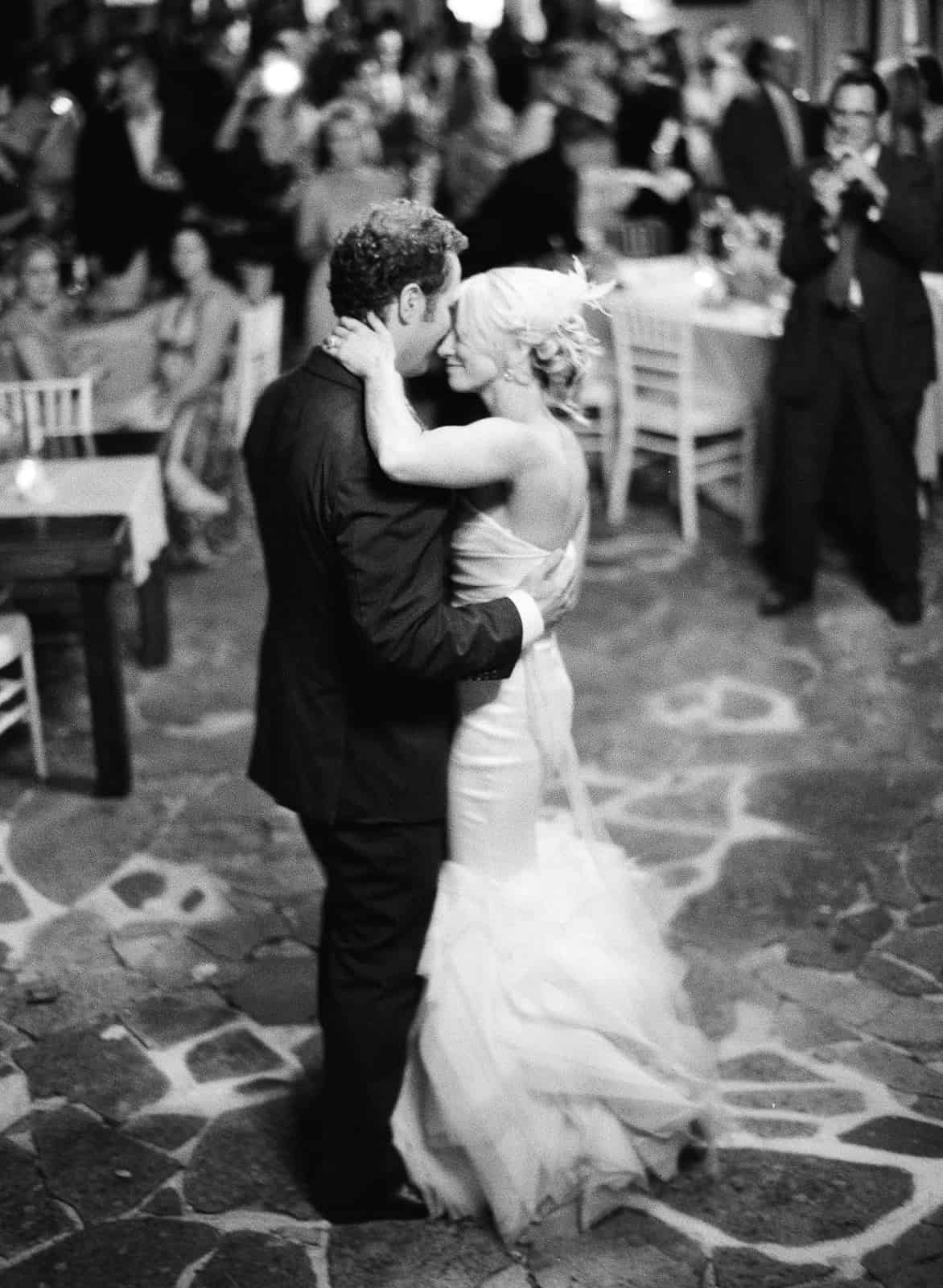 Slow first dance