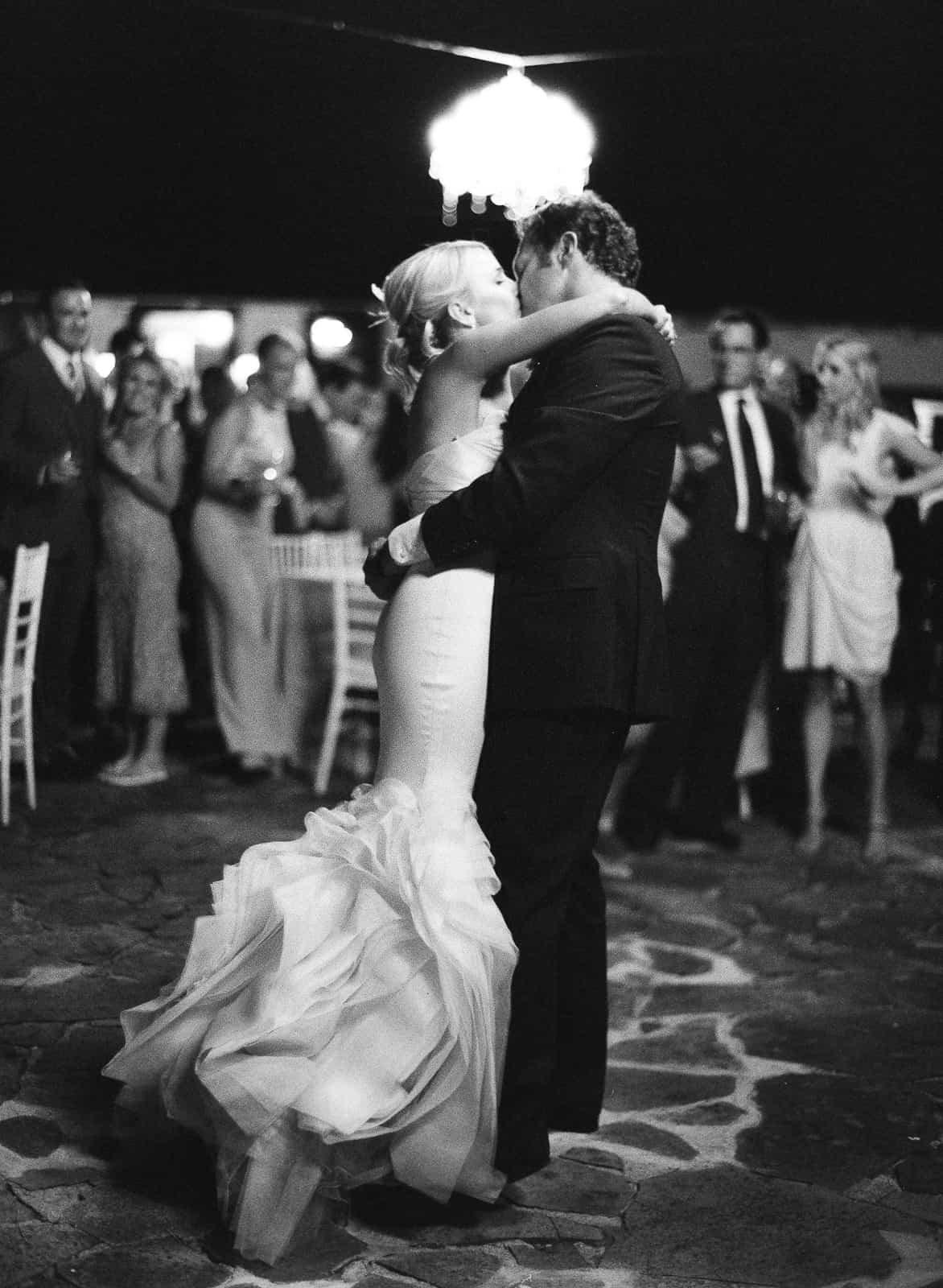 First dance kiss