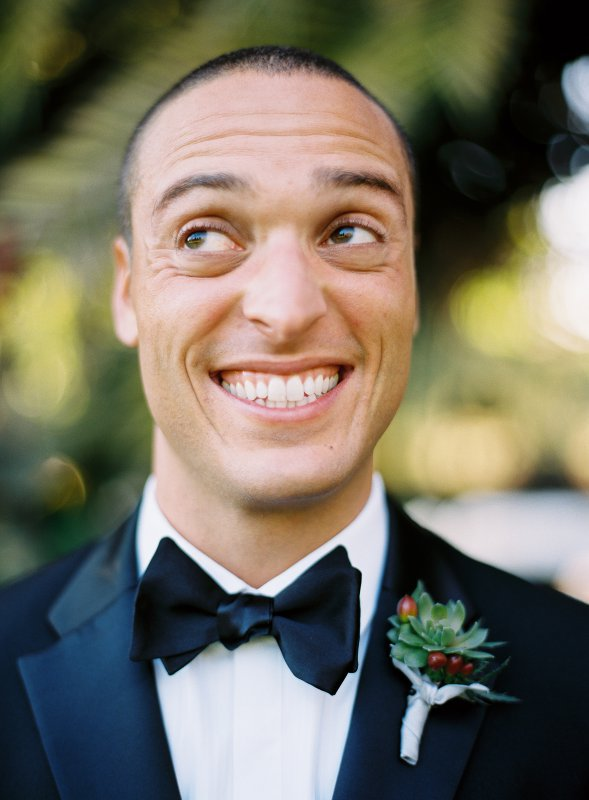 Funng groom portrait