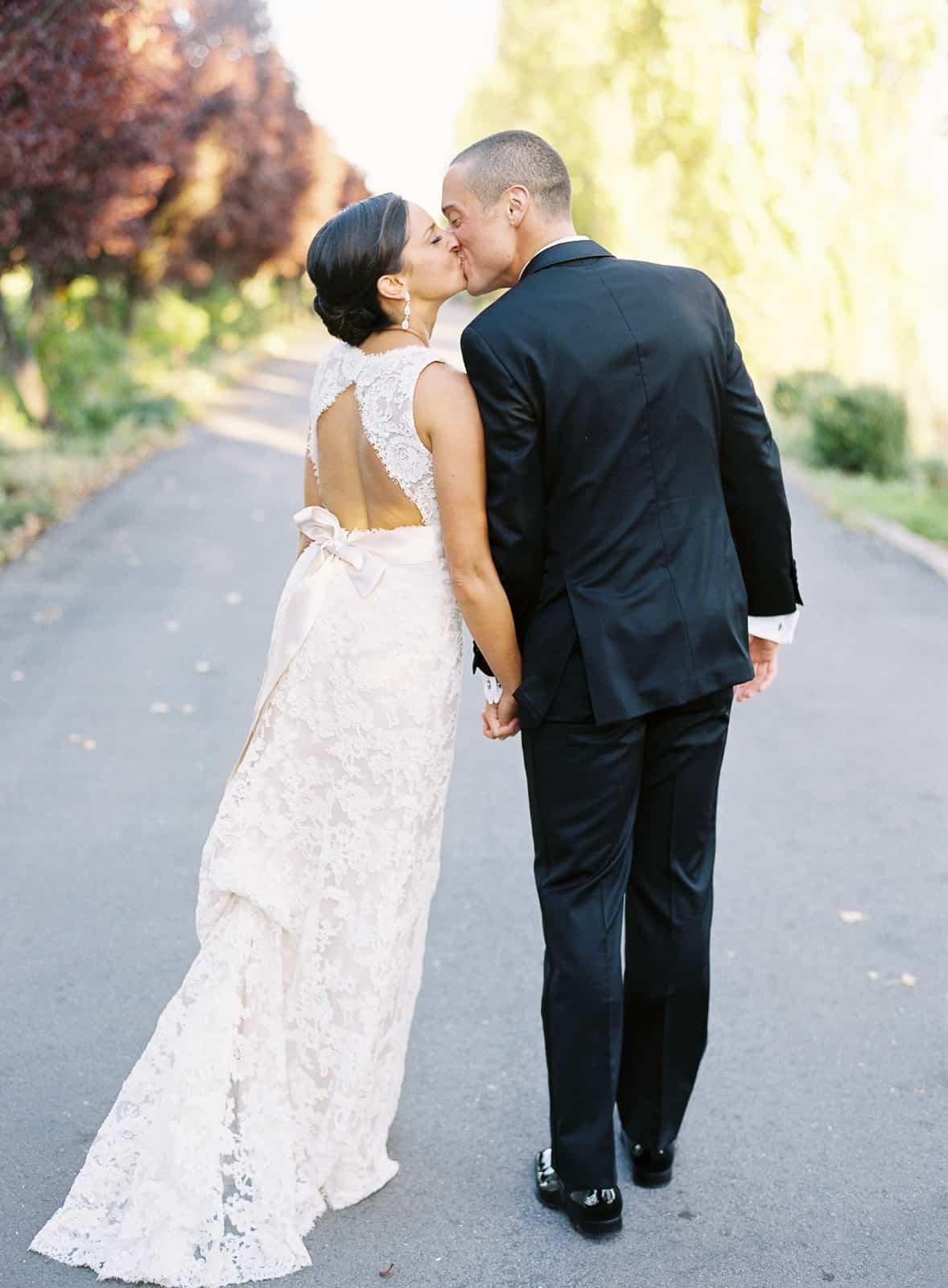 Timeless wedding portrait