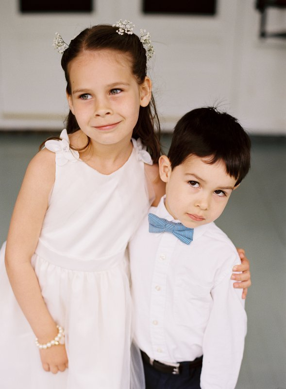 flower girl and ring bearer
