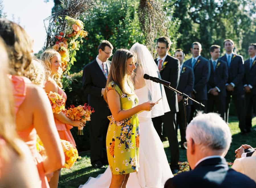 Ceremony reader
