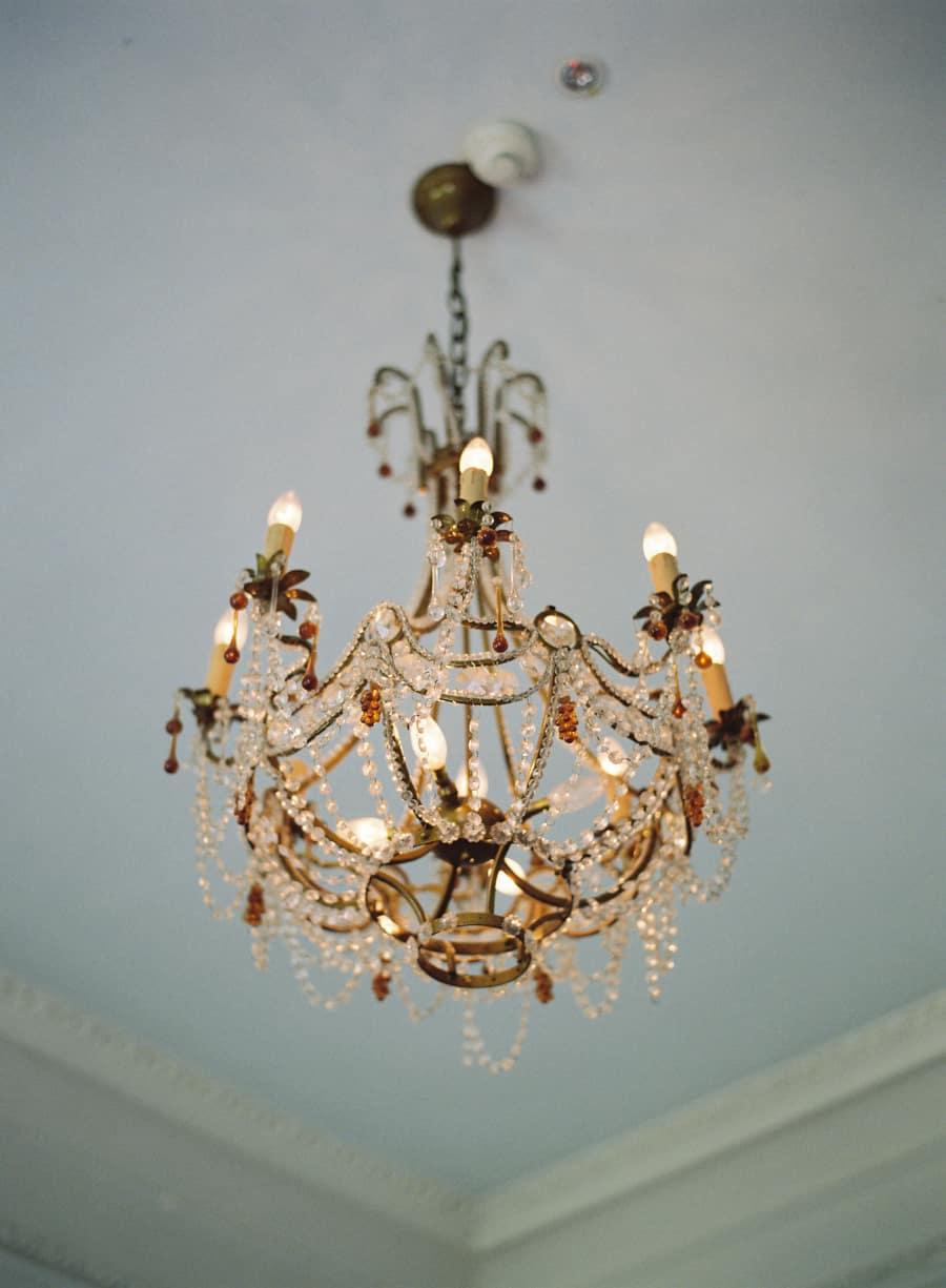 Bellinter House chandelier
