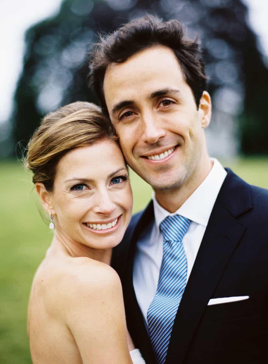 brid and groom portrait