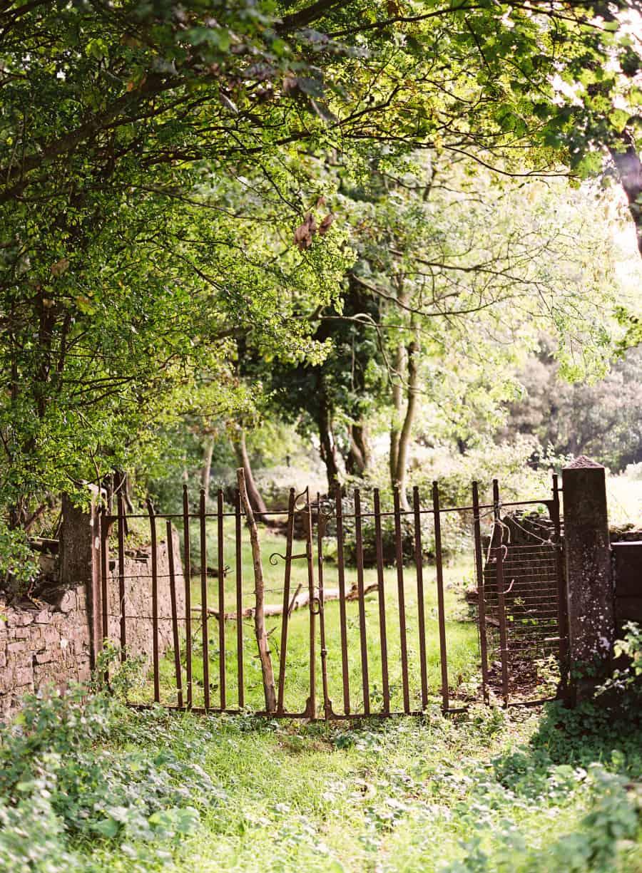 Old iron gate