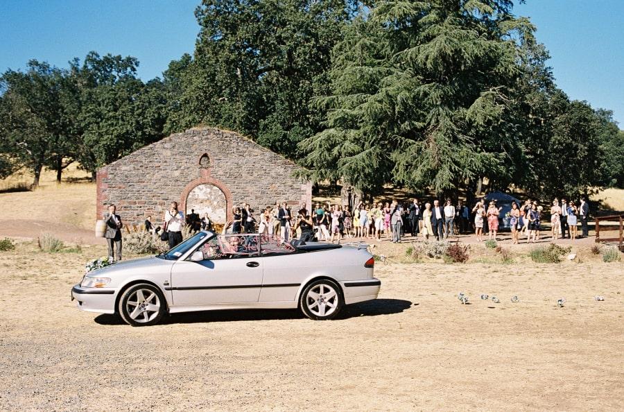 ceremony car send-off