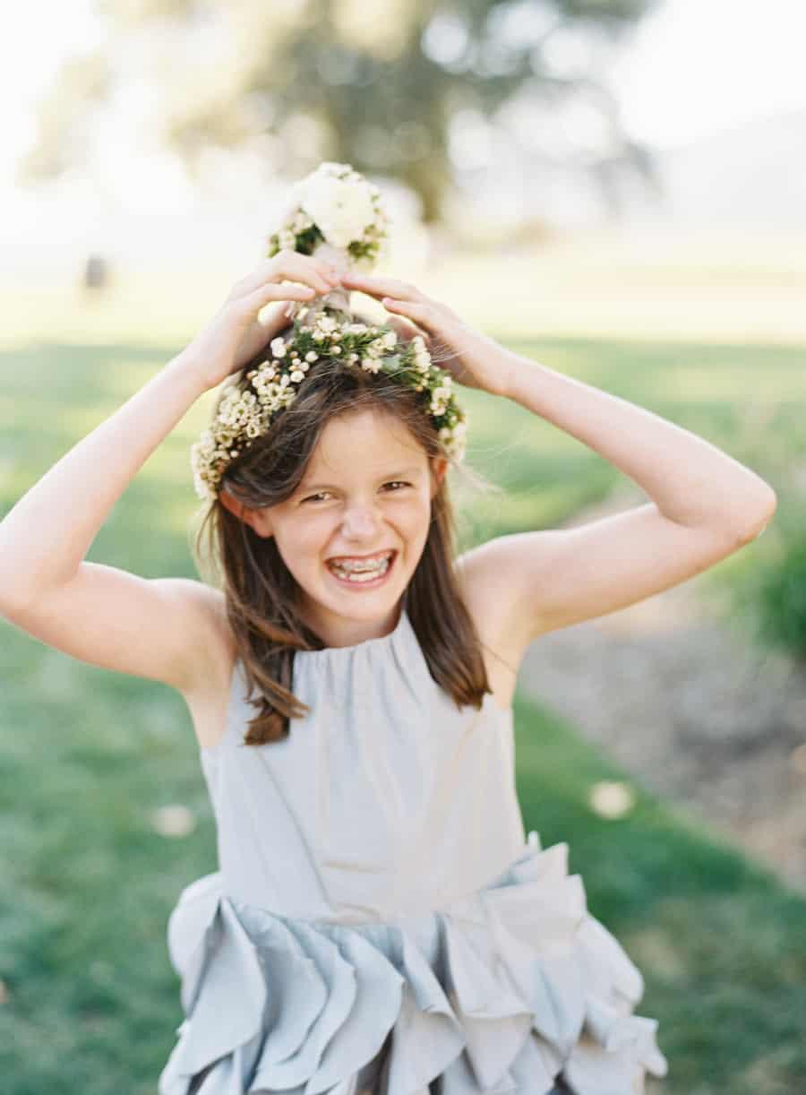 goofy flower girl