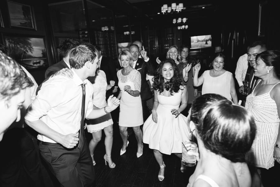 everyone dancing