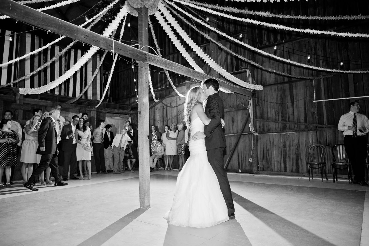 Barn first dance