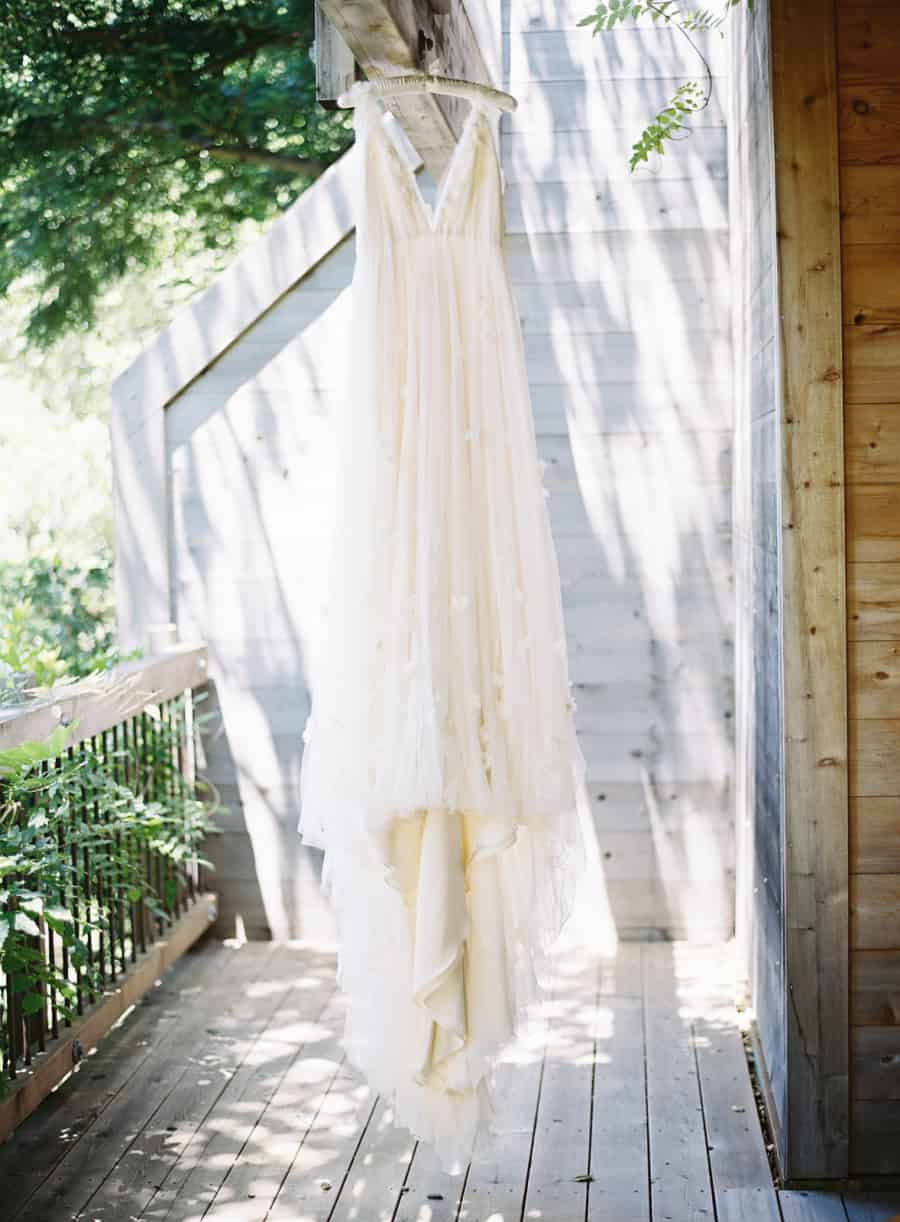 samuelle couture dress hanging