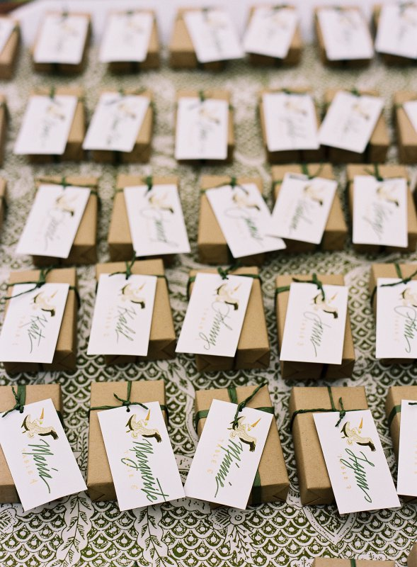 illustrated place cards
