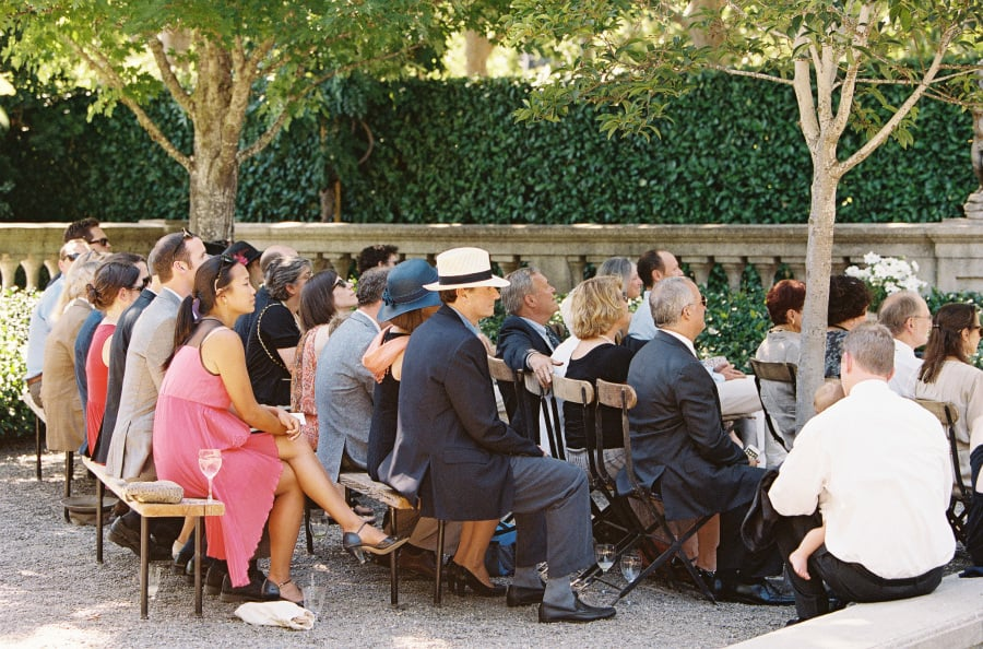 ceremony guests