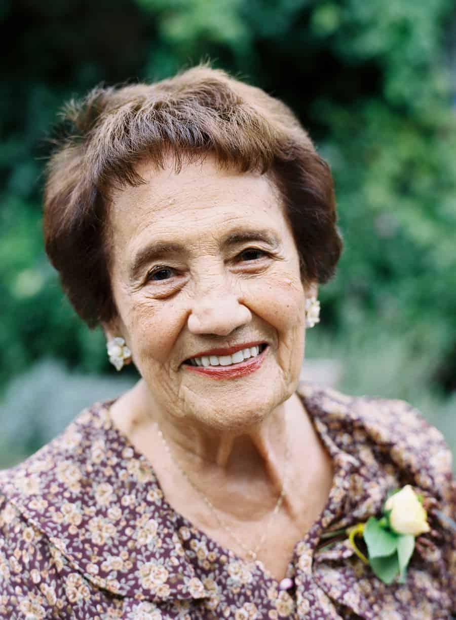 grandmother portrait
