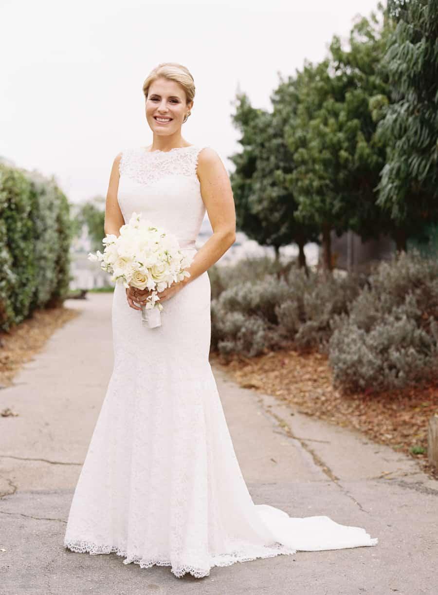 bride formal portrait