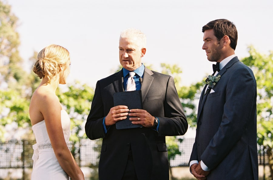 ceremony officiant