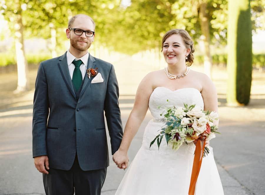 couples portrait holding hands