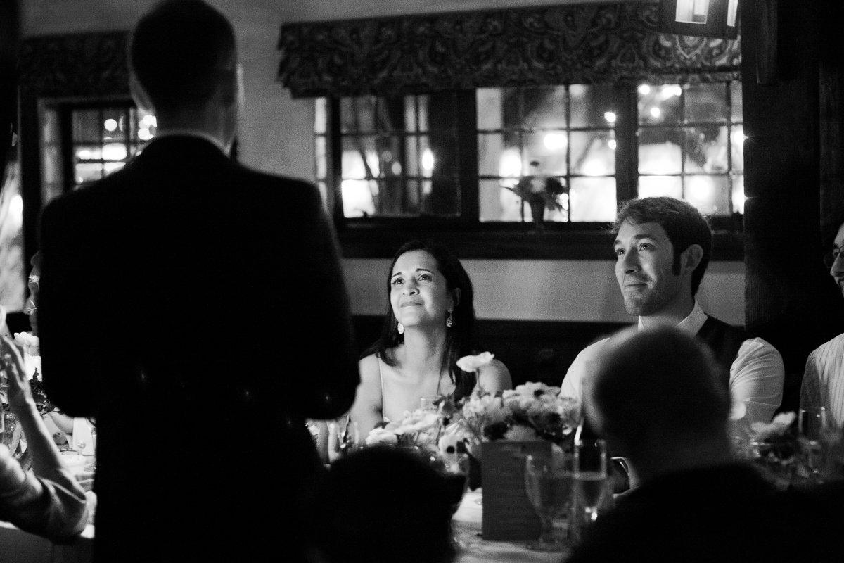 speech during dinner