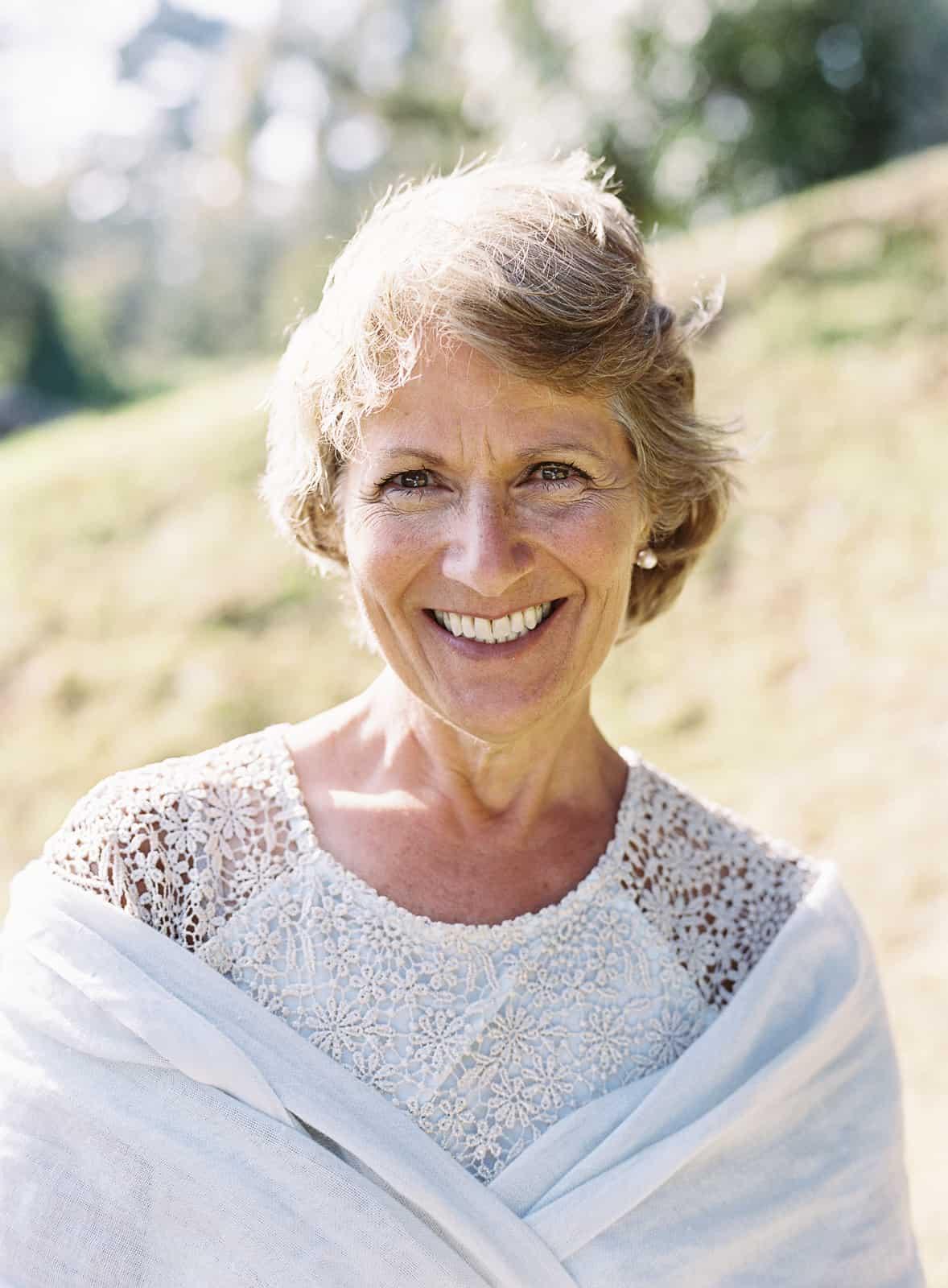 mother of groom portrait