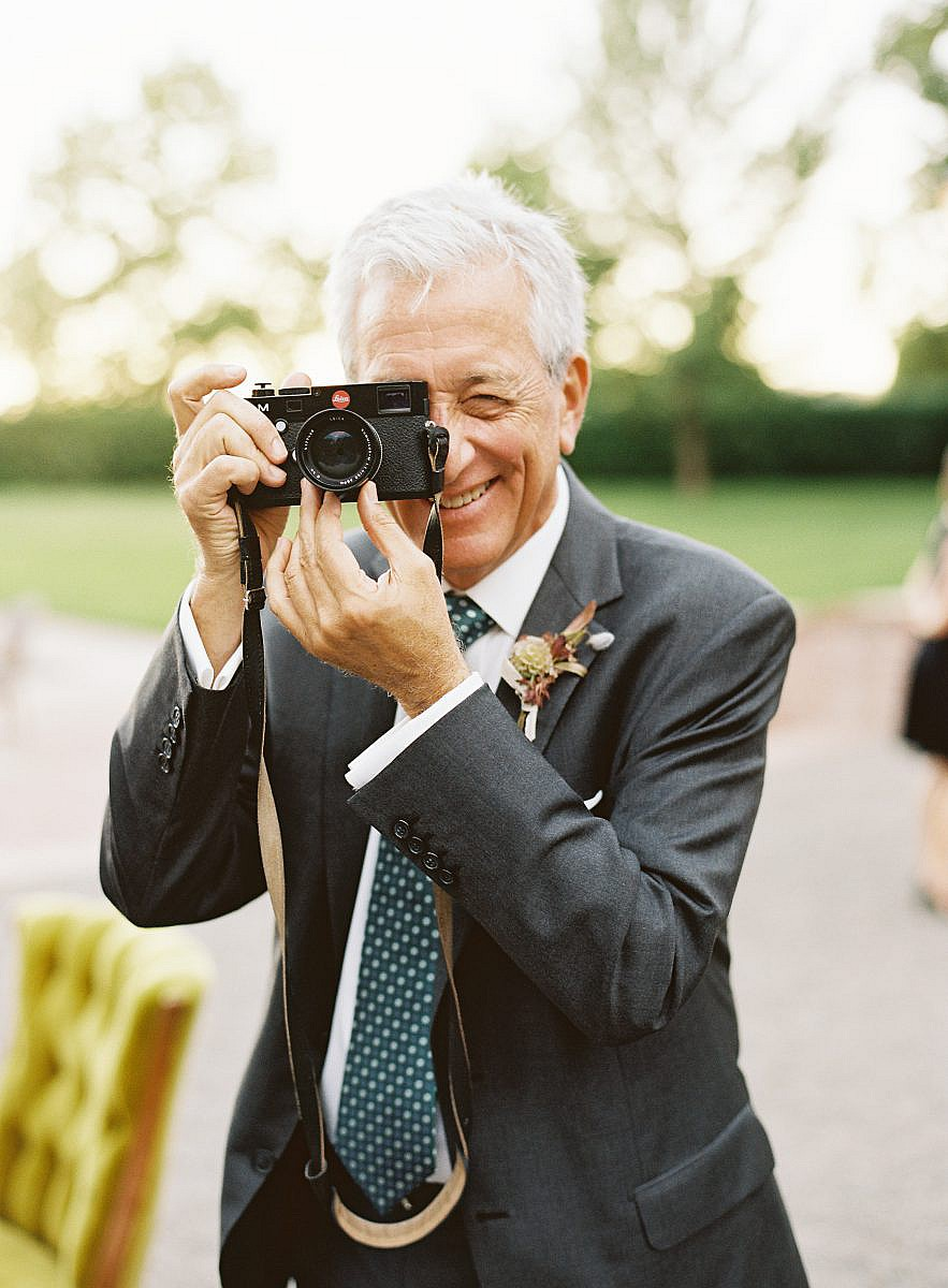 guest with leica camera