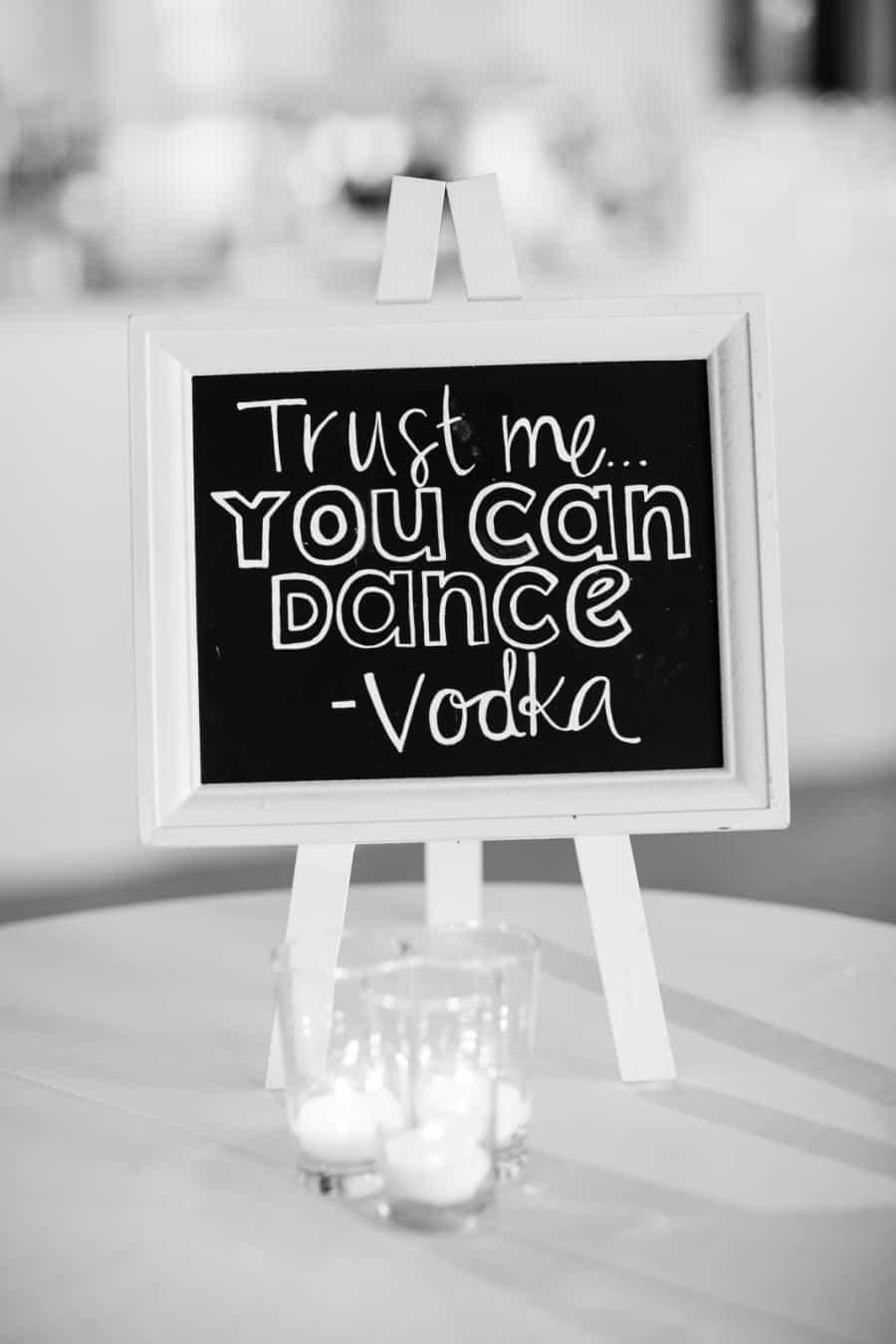 trust me... you can dance - vodka