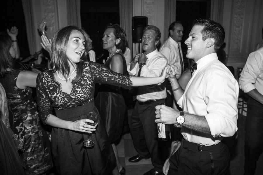 girl and guy dancing