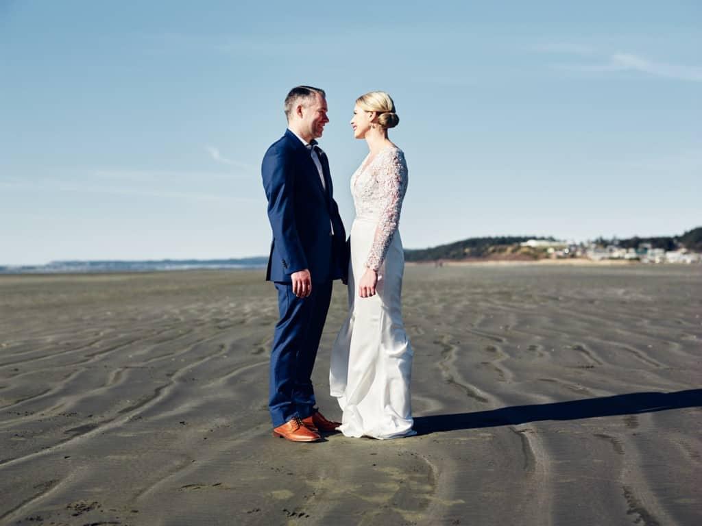 seabrook wedding couple portrait
