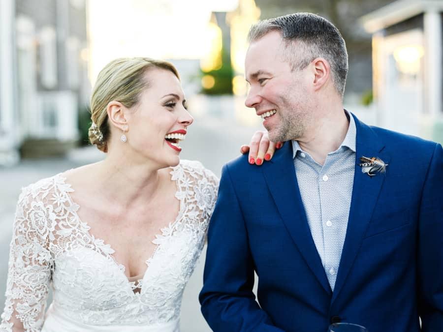 beautiful wedding portrait
