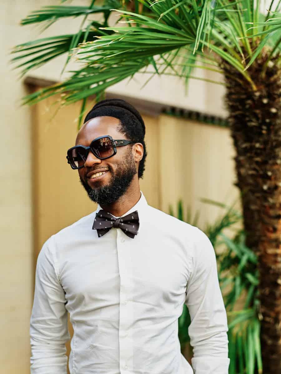 stylish wedding guest