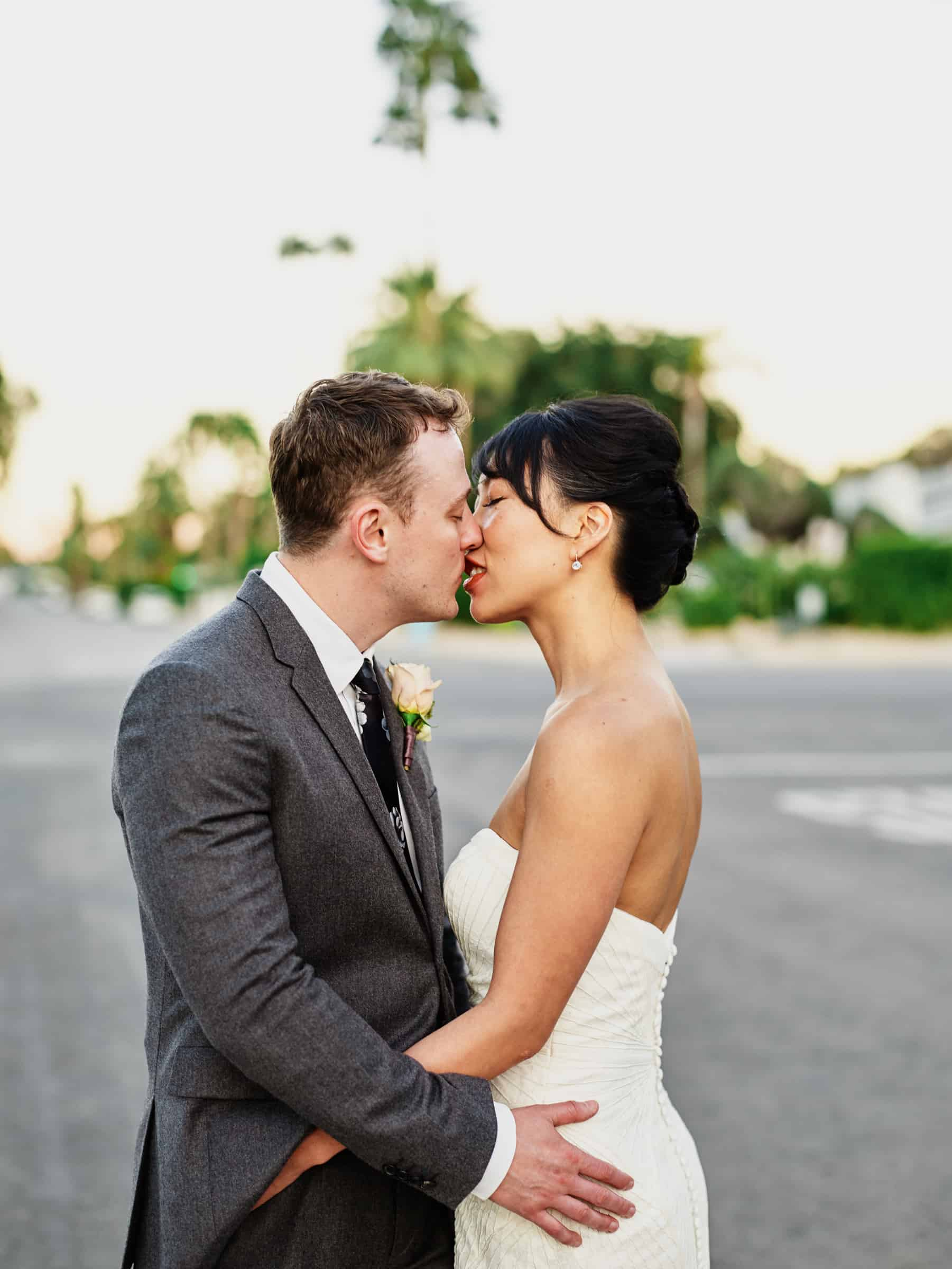palm springs wedding portraits