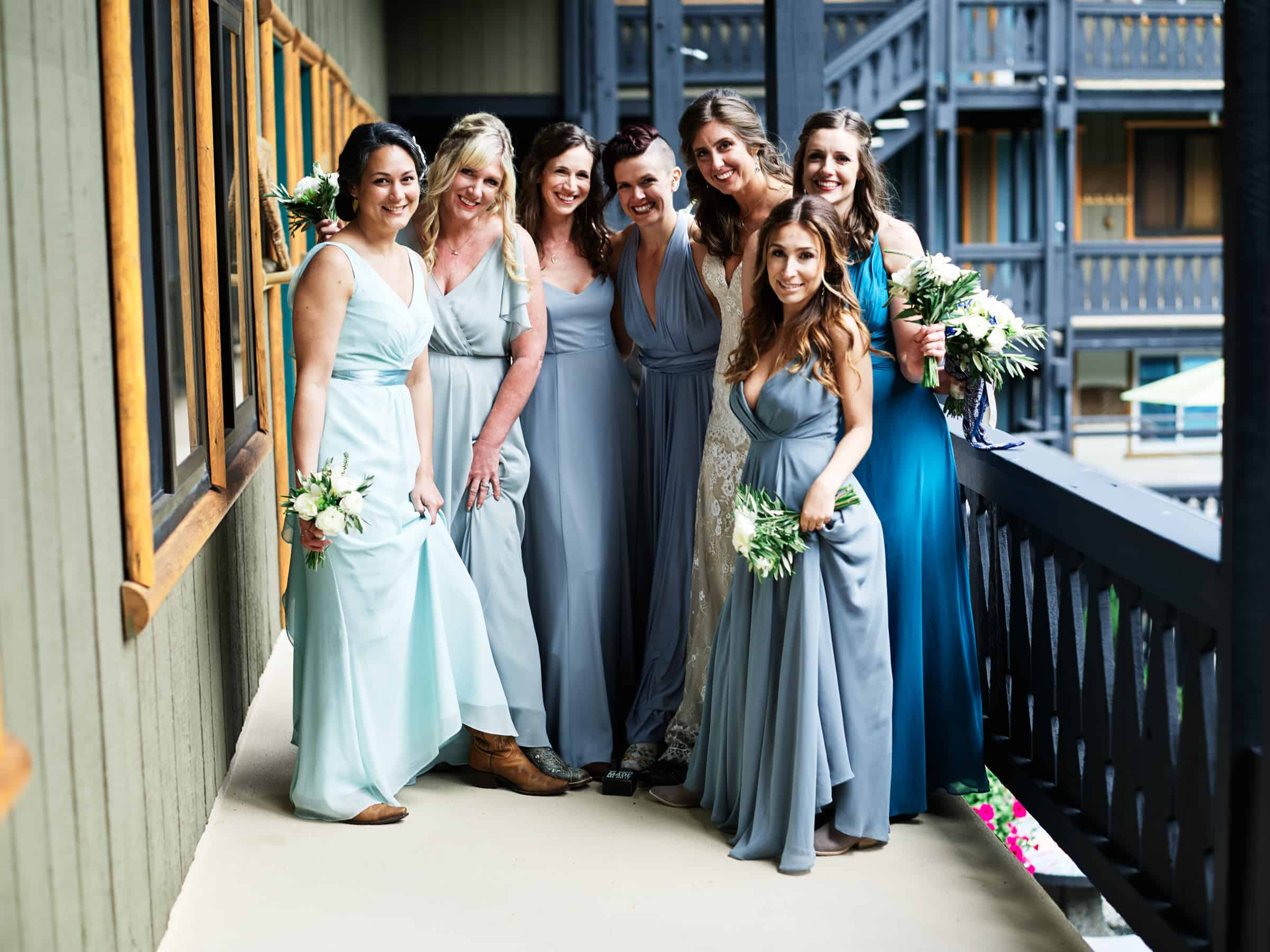 bridesmaids group