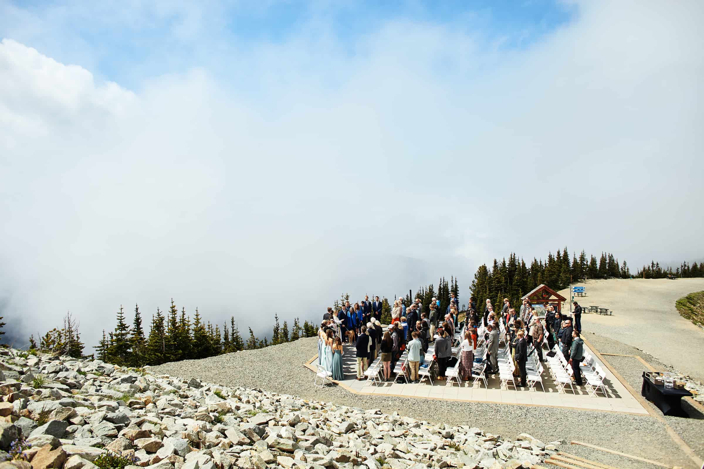 mountain top ceremony