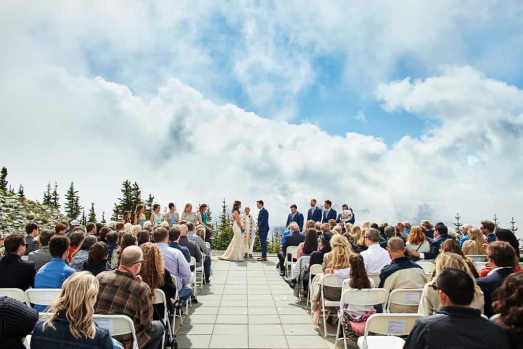 crystal mountain wedding ceremony