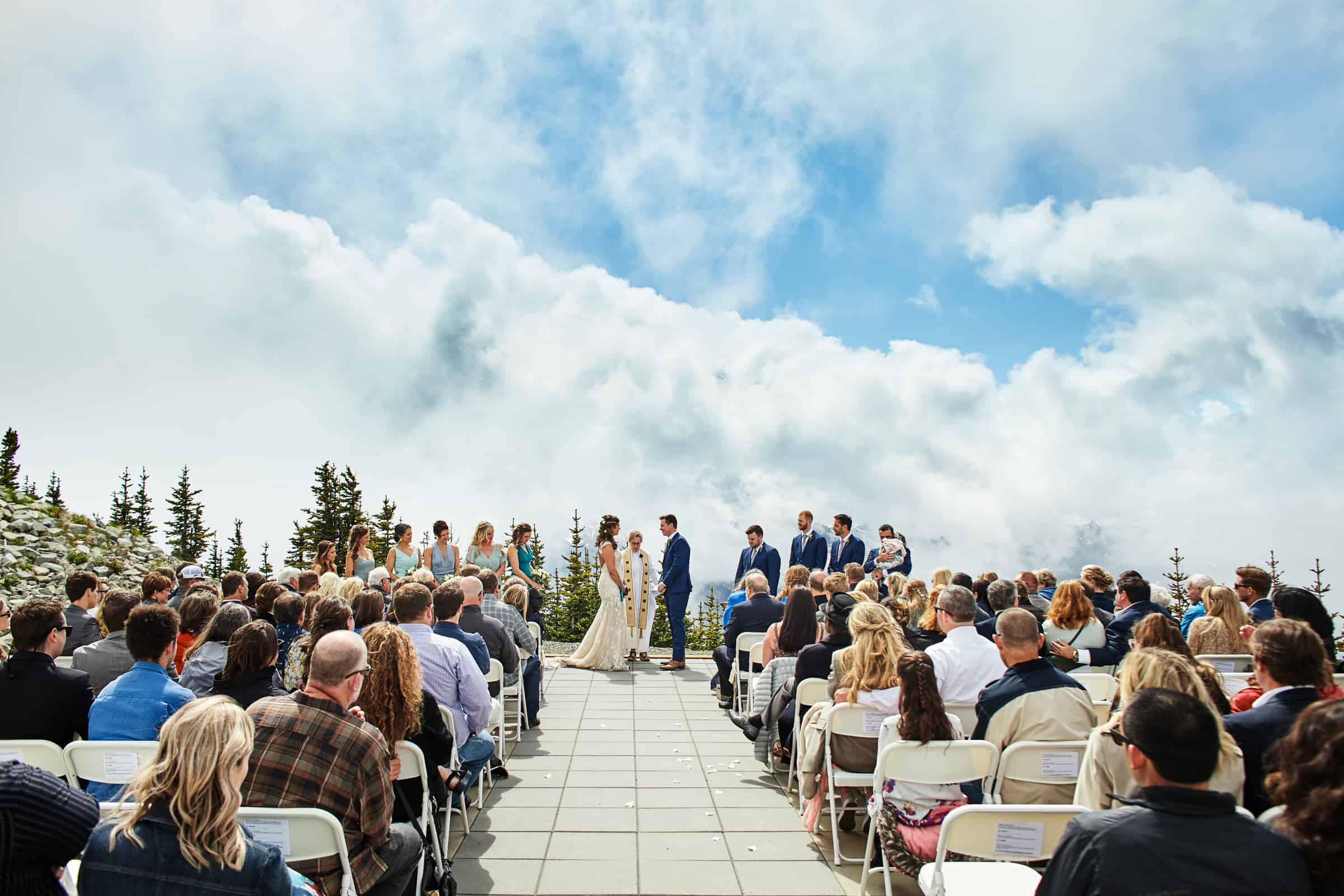 crystal mountain wedding ceremony