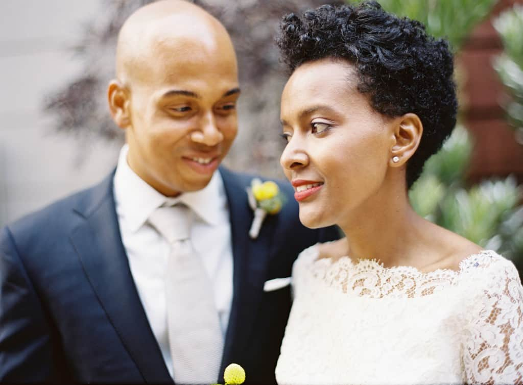 afrian american bride and jamaican groom