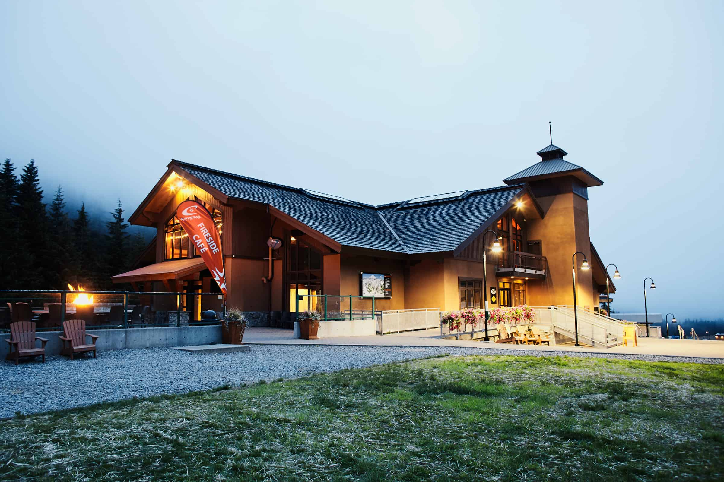 Crystal Mountain lodge