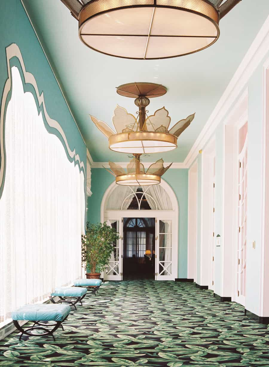 greenbrier resort interior