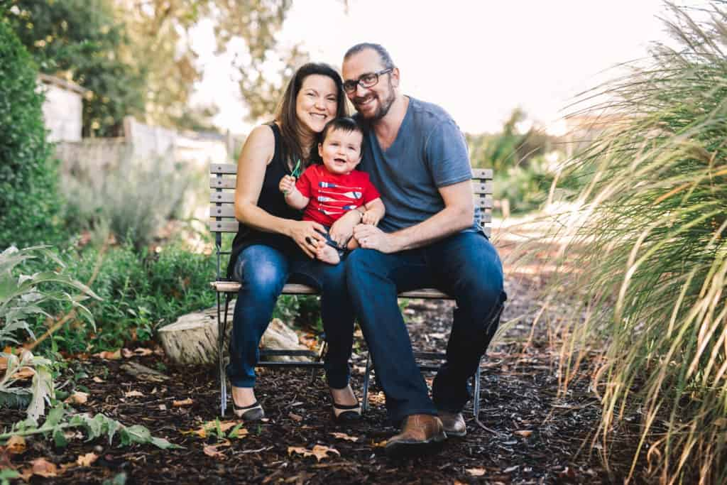 family session in st helena