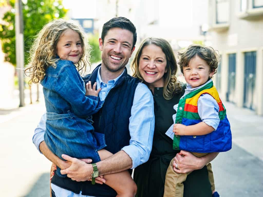family sesion portrait taken by seattle photographer cooper carras